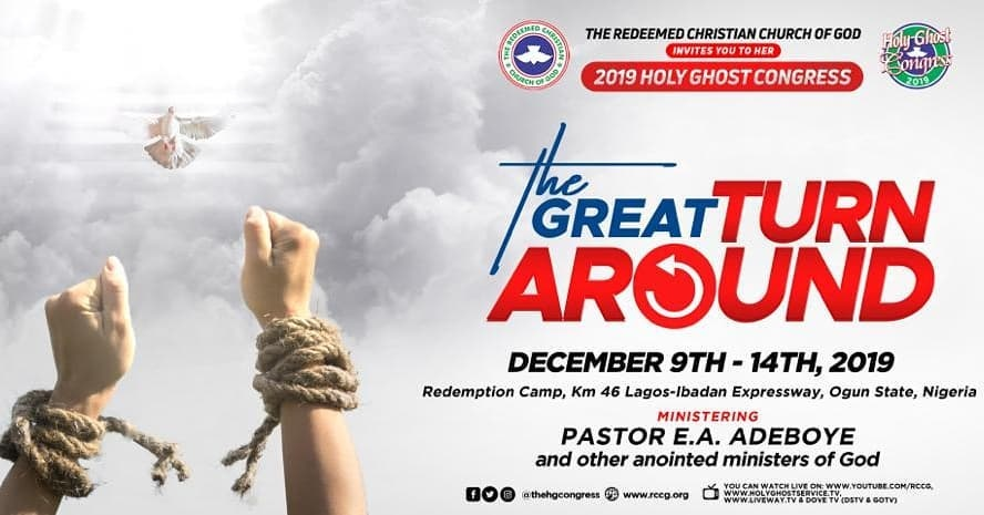 2019 RCCG Holy Ghost Congress - The Great Turn Around