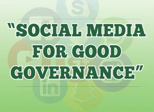 Social media for good governance